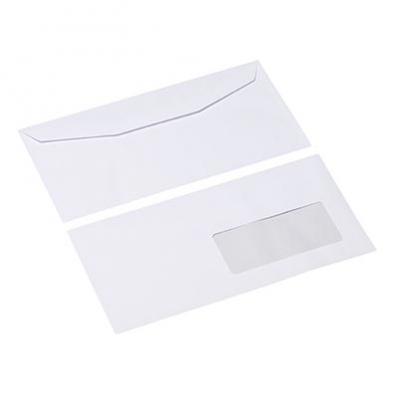 Image Enveloppes mécanisables 114x229mm avec fenêtre45x100mm La Couronne 7208021E 01