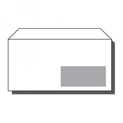 Image Enveloppes mécanisables 114x229mm avec fenêtre45x100mm La Couronne 7208021E 02
