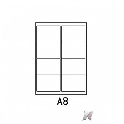 Image Boite de 100 planches de 8 étiquettes 99x67,7mm 7211003L 01