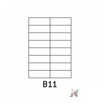 Image Boite de 100 planches de 16 étiquettes 105x37mm 7210993A 01