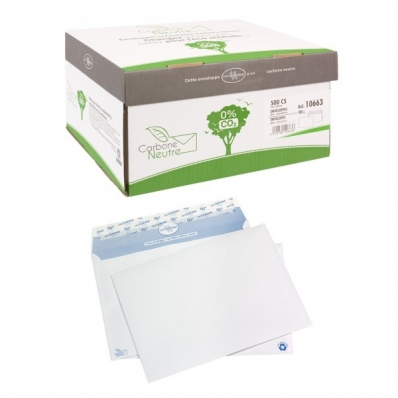 Image Enveloppes auto-adhésives Carbone Neutre 7211480B 01