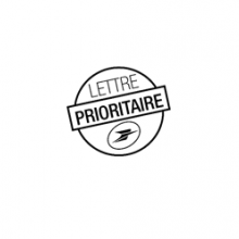 Image MENTION POSTALE LETTRE PRIORITAIRE SA / ST 4143402T 01