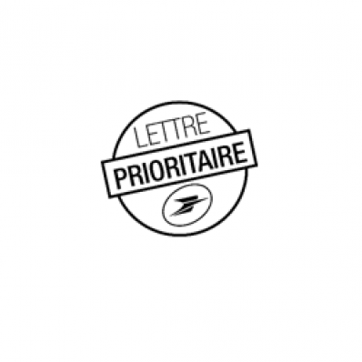 Image MENTION POSTALE LETTRE PRIORITAIRE SA / ST